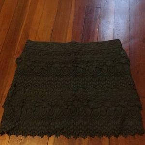 Layered lace skirt size 2